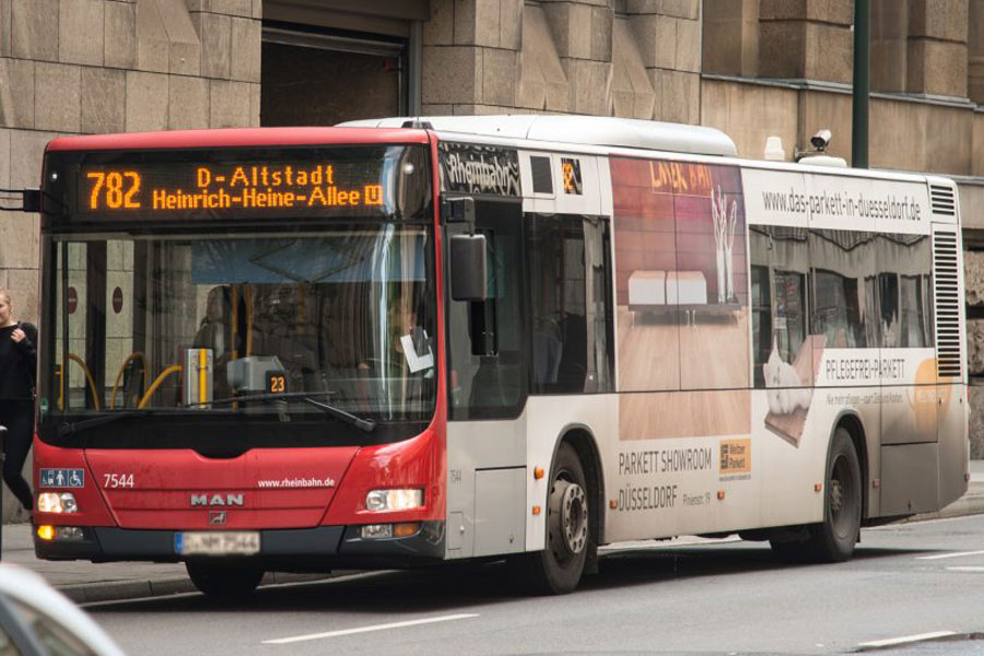 AUPRION-Verkehrsmittelwerbung-Buswerbung-Duesseldorf