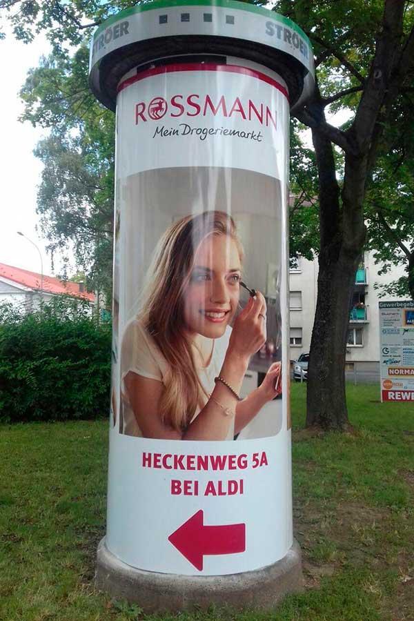 Ganzsaeule-Dauerwerbung-Hinweismedium-Schweinfurt